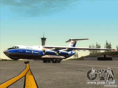 IL 76 m Aeroflot for GTA San Andreas