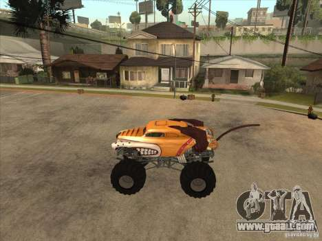 Monster Mutt for GTA San Andreas left view