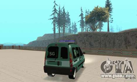 Renault Kangoo Straz Graniczna for GTA San Andreas left view