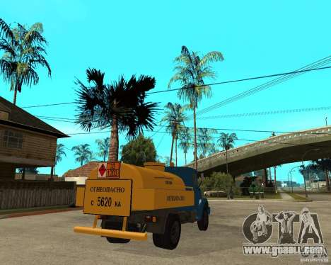 ZIL-433362 Extra Pack 2 for GTA San Andreas inner view