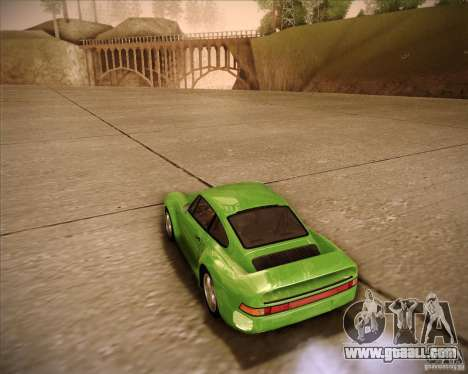 Porsche 959 1987 for GTA San Andreas left view