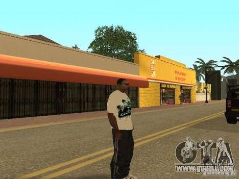 Jersey Adidas for GTA San Andreas forth screenshot