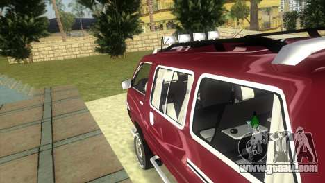 Toyota Town Ace-Tuning for GTA Vice City back view