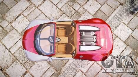Bugatti Veyron Grand Sport [EPM] 2009 for GTA 4 back left view