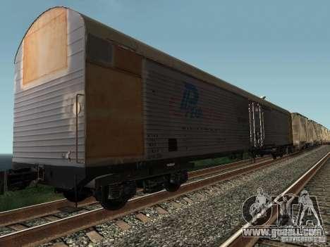 Refrežiratornyj wagon Dessau No. 9 for GTA San Andreas