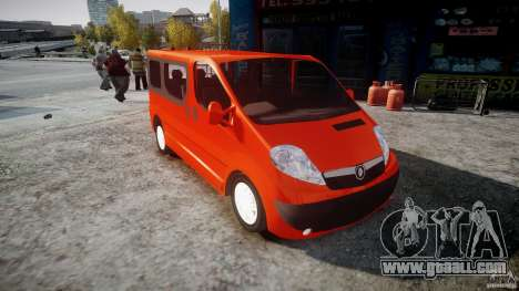 Renault Trafic for GTA 4 right view