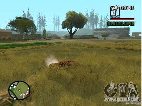 Real Grass v1.0 for GTA San Andreas third screenshot