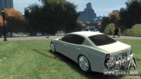 Maserati Quattroporte for GTA 4 left view