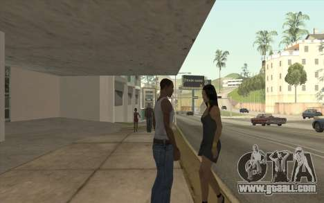 Blow Job for GTA San Andreas