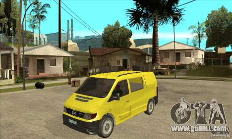 Mercedes-Benz Vito 112CDI for GTA San Andreas