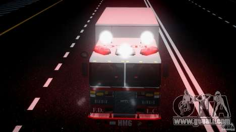 LCFD Hazmat Truck v1.3 for GTA 4 bottom view