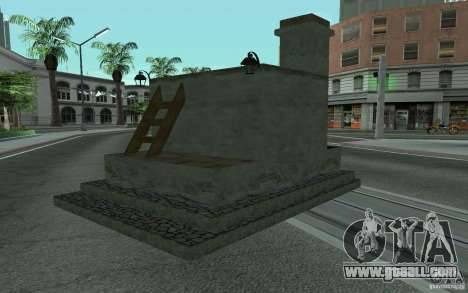 Stove for GTA San Andreas left view