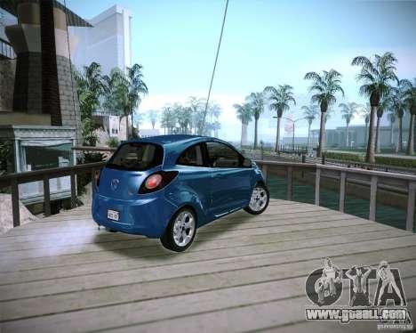 Ford Ka 2011 for GTA San Andreas left view