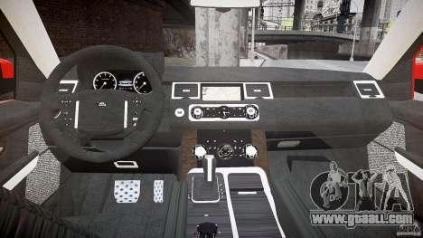 Range Rover Sport for GTA 4 back view