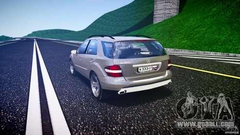 Mercedes-Benz ML 500 v1.0 for GTA 4 back left view
