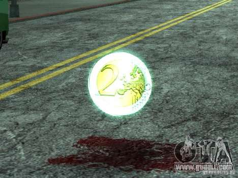 Euro-coins for GTA San Andreas
