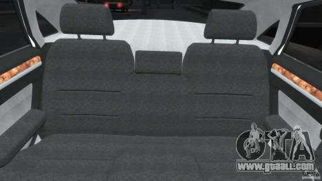 Audi S8 D3 2009 for GTA 4 interior
