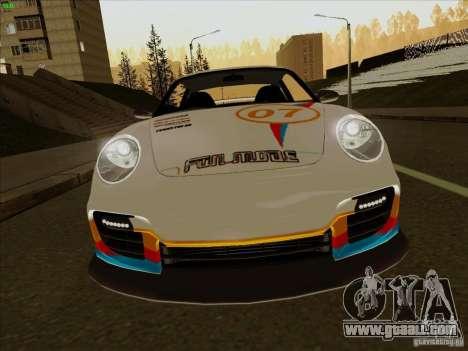 Porsche 997 GT2 Fullmode for GTA San Andreas inner view