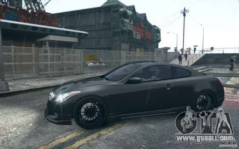 Infiniti G37 Coupe Carbon Edition v1.0 for GTA 4