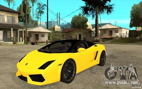 Lamborghini Gallardo LP560 Bicolore for GTA San Andreas
