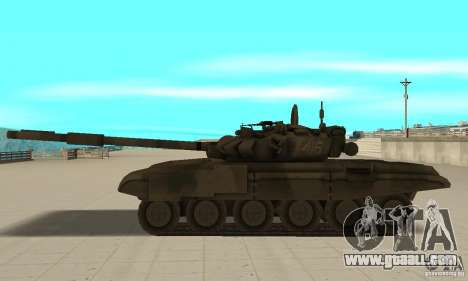 Tank t-90 for GTA San Andreas