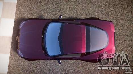 Chevrolet Corvette C6 Z06 for GTA 4 right view