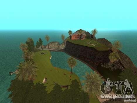 Kapu Pohaku Island v1.2 for GTA San Andreas