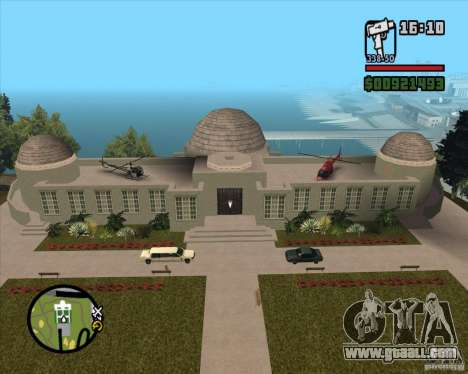 The House on the Hill for GTA San Andreas