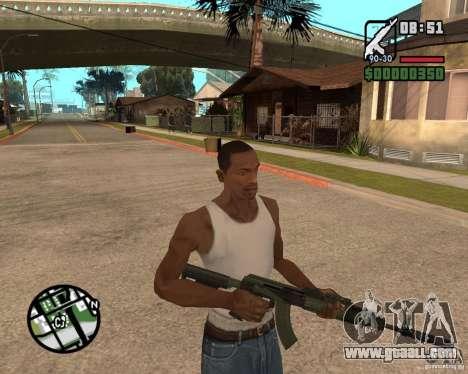 AK-47 from GTA 5 v.1 for GTA San Andreas