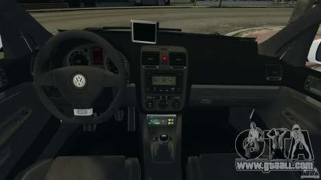 Volkswagen Golf 5 GTI South African Police [ELS] for GTA 4 right view