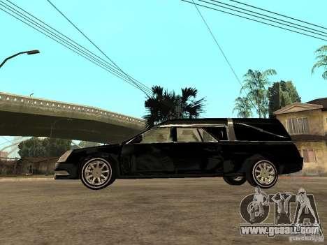 Cadillac DTS 2008 for GTA San Andreas left view