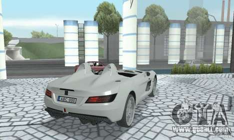 Mercedes-Benz SLR Moss 2008 for GTA San Andreas left view