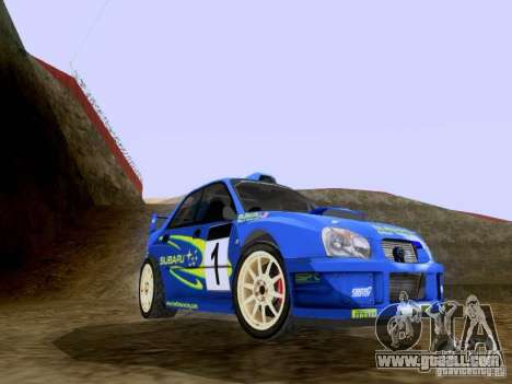 Subaru Impreza WRC 2003 for GTA San Andreas left view