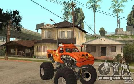 El Toro Loco for GTA San Andreas back view