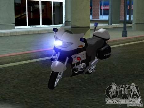 BMW R1150RT Cop copbike for GTA San Andreas