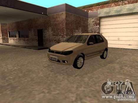 Fiat Palio 1.8R for GTA San Andreas