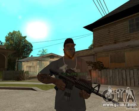 Very high-quality M16 for GTA San Andreas