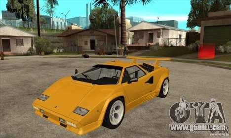 Lamborghini Countach for GTA San Andreas