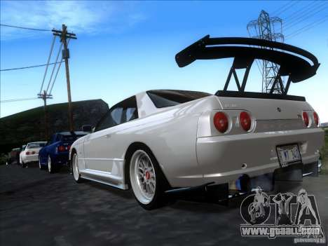 Nissan Skyline GT-R R32 1993 Tunable for GTA San Andreas left view