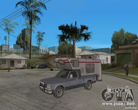 Chevrolet S-10 Kemper v2.0 for GTA San Andreas
