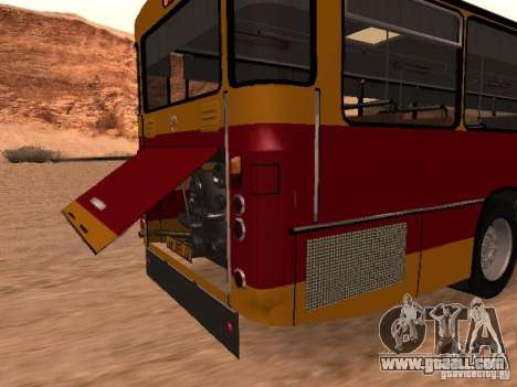 Mercedes-Benz O305 for GTA San Andreas inner view