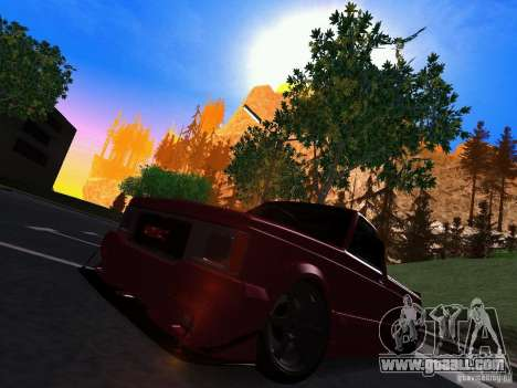 GMC Syclone Drift for GTA San Andreas left view