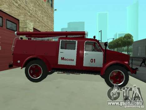 GAZ 51 20 ADC for GTA San Andreas back left view