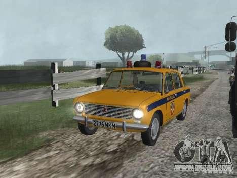 VAZ TRAFFIC POLICE 21016 for GTA San Andreas