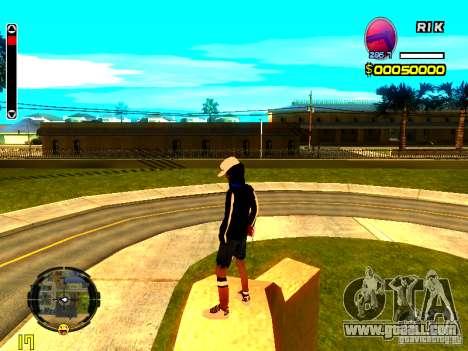 Skin bum v8 for GTA San Andreas third screenshot