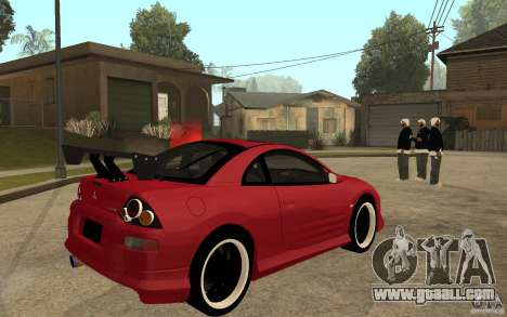 Mitsubishi Eclipse 2003 V1.0 for GTA San Andreas right view