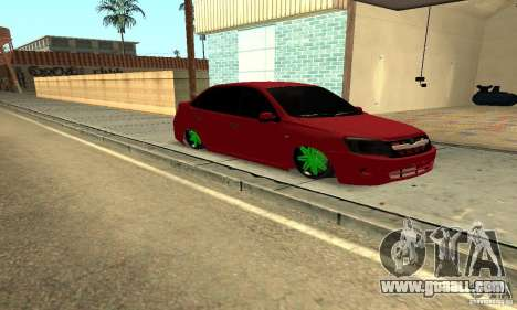 Lada Granta Dag Style for GTA San Andreas
