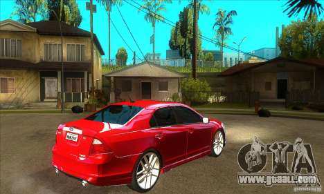 Ford Fusion Hybrid for GTA San Andreas right view