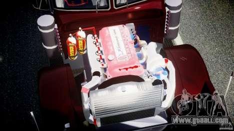 Peterbilt Sport Truck Custom for GTA 4 upper view