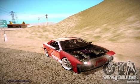Elegy 180SX for GTA San Andreas